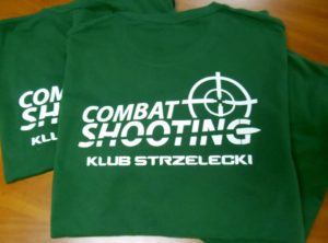 Koszulki klubowe-Combat Shooting