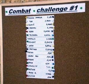 Combat Challenge #1