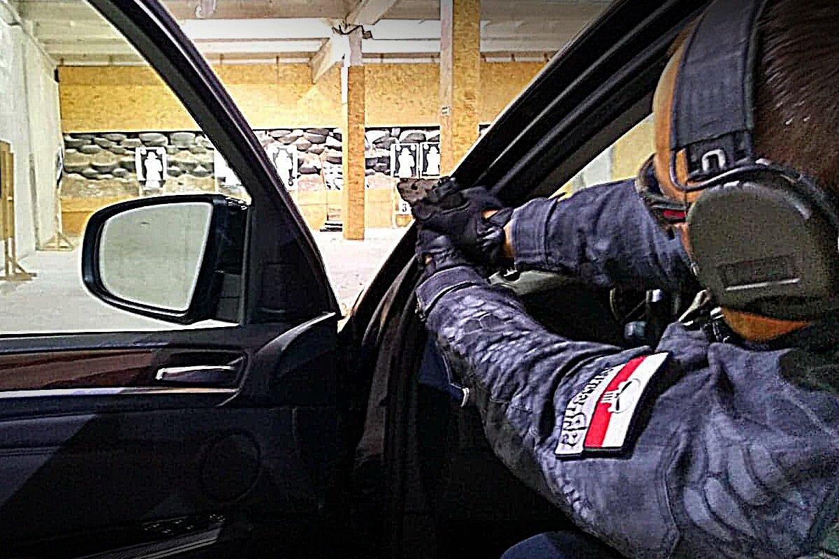 Combat Shooting Car